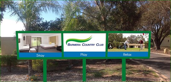 Barmera Country Club: Entry Sign