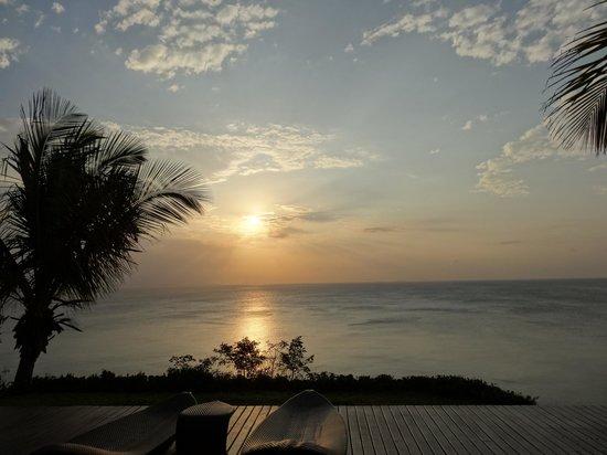 Anantara Bazaruto Island Resort : Sunset from the spa