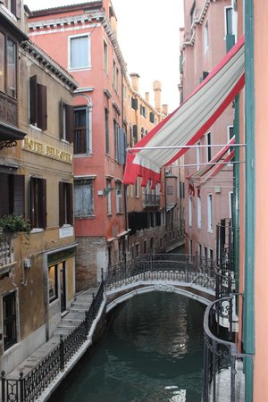 Hotel Saturnia & International : The view from our room...How great is this?!