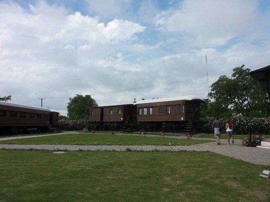 Museo del Ferrocarril: El parque