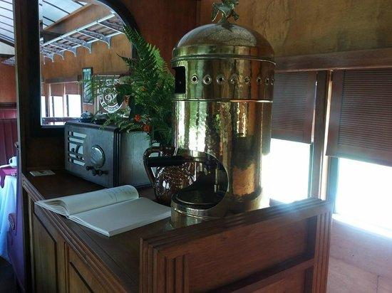 Museo del Ferrocarril : Uno de los vagones