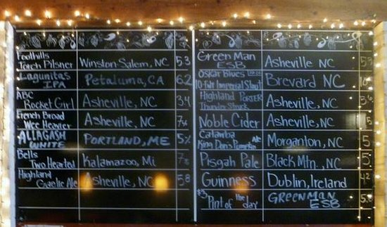 Jack of Hearts: Lots of Brewskis, many of them local
