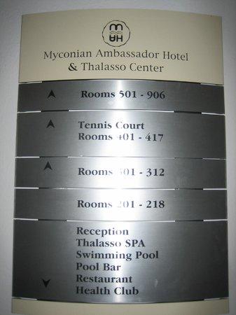 Myconian Ambassador Relais & Chateaux Hotel: Ascenseur