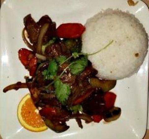 Thai Sapa : Beef Stir Fry
