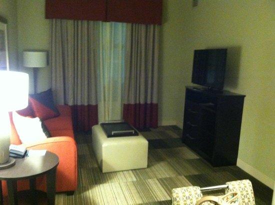 Homewood Suites Nashville Downtown: living area