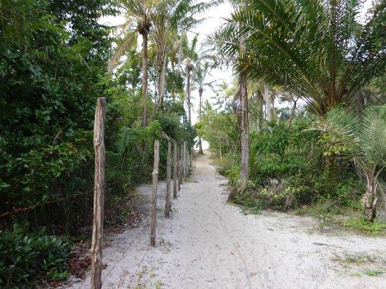 Casa Mestica: acesso praia Boca da barra