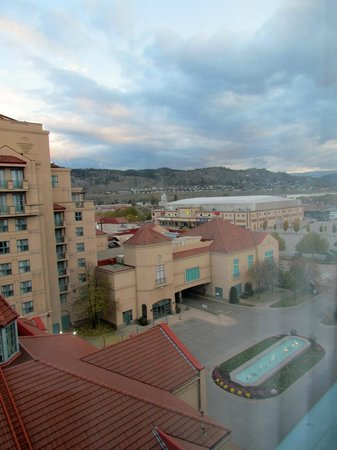 Delta Hotels Grand Okanagan Resort: View from my room towards town