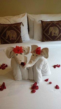Lanta Castaway Beach Resort : room