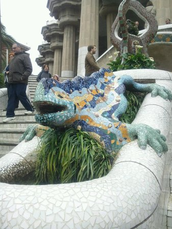 Barcelona Japanese Official Tourist Guide: Parc Güell