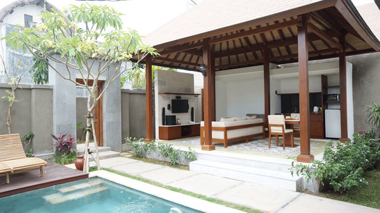 The Astari - Villa and Residence: One Bedroom Private Pool Villas-Living Area