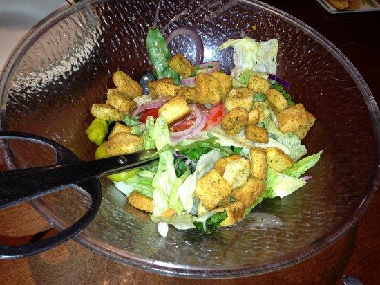 Olive Garden: Salad