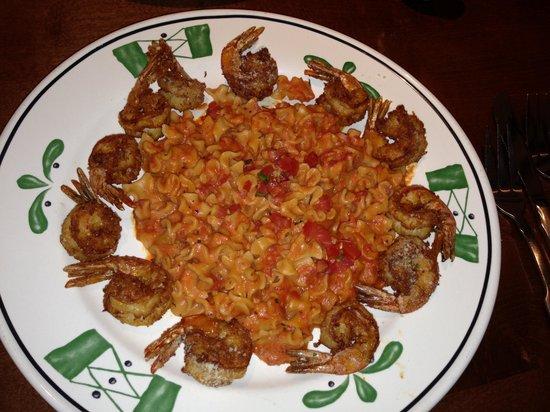 Olive Garden: Crispy Parmesan Shrimp