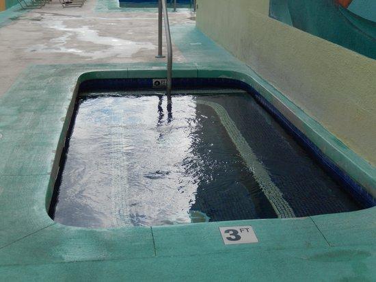 Aqua Pacific Monarch: Rooftop hot tub