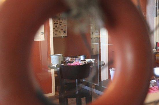 Fjorubordid : dining area
