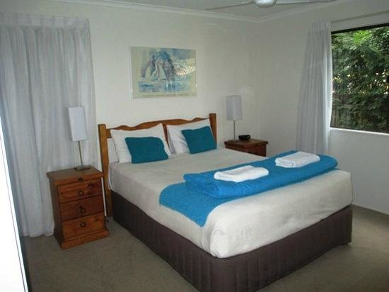 Nautilus Noosa Holiday Resort: Main Bedroom