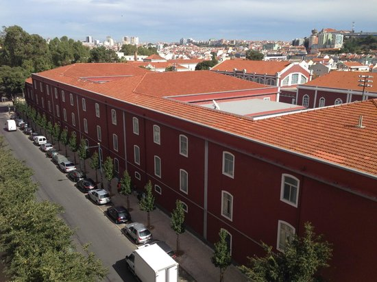 Hotel Princesa Lisboa Centro: view from our room