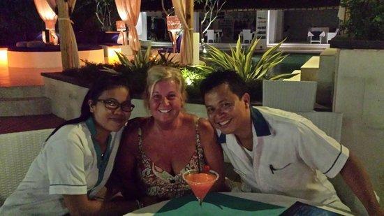 Enjoyable evening at thje Spice Beach Club.