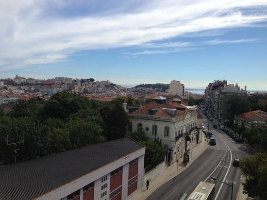 Hotel Princesa Lisboa Centro : view from our room