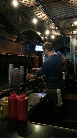 Shorts Burger & Shine: Bar Area and Seating