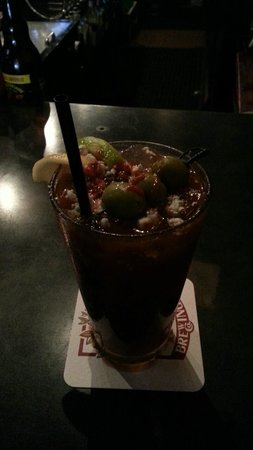 Shorts Burger & Shine: Sunday Bloody Mary Special with Bleu Cheese