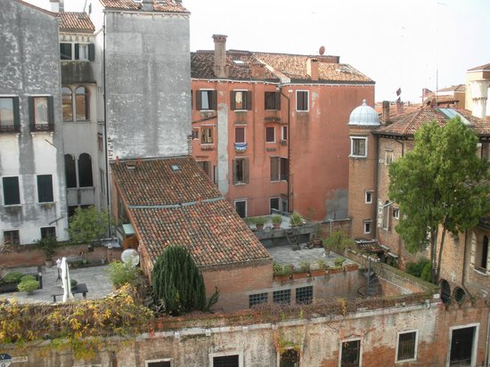 Hotel Al Sole: Vue depuis la chambre