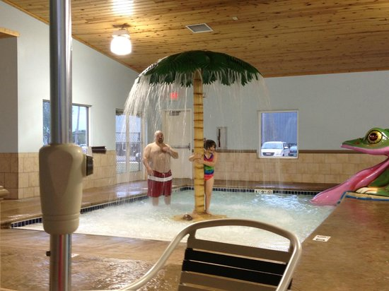 GuestHouse Inn & Suites Rochester: Pool and hot tub