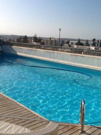 L'Heure Bleue Palais : Rooftop pool