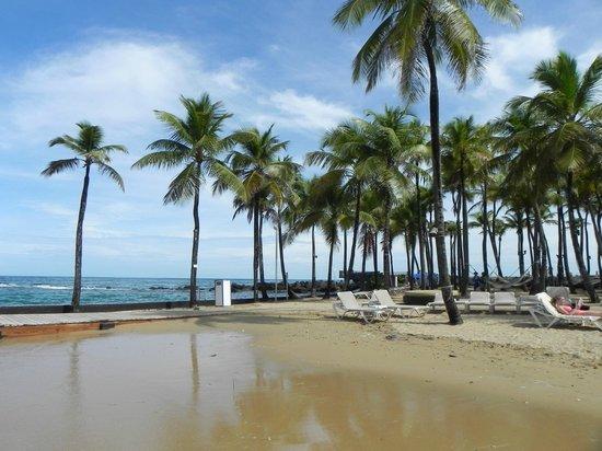 Condado Lagoon Villas at Caribe Hilton: Beach area