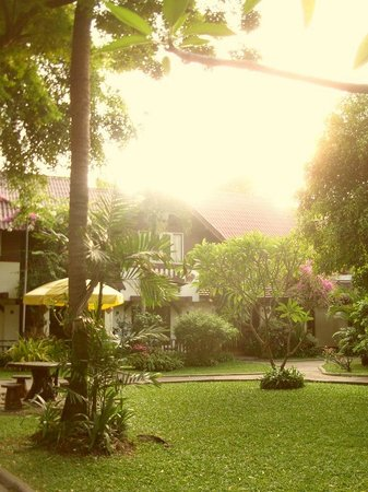 Natural Park Resort: Территория отеля.