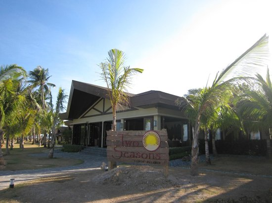 Two Seasons Coron Island Resort & Spa : 菲律賓唯一有如馬爾地夫海島般景觀的度假村