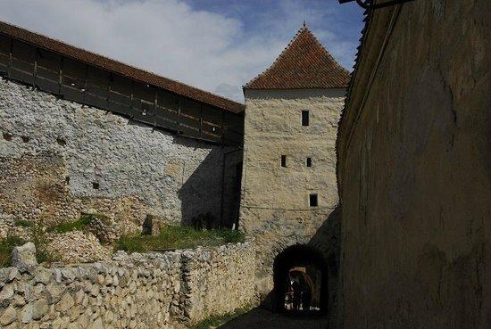 Rasnov Citadel: Brama główna