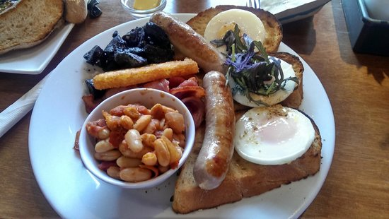 Capers Cafe: The Works Breakfast Meal