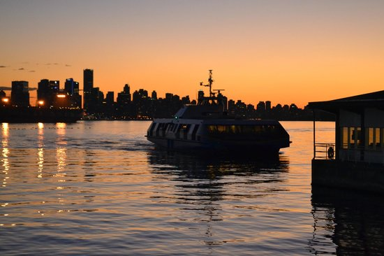 TransLink Seabus: the Seabus from Downtown Waterfront ..