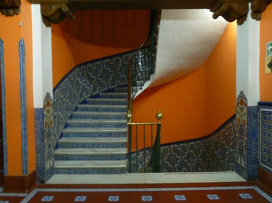 Best Western Hotel Majestic: staircase