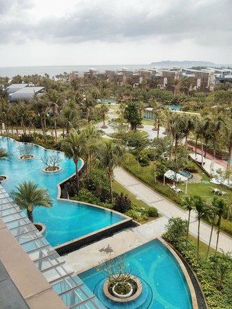 The Westin Sanya Haitang Bay Resort: View from my room