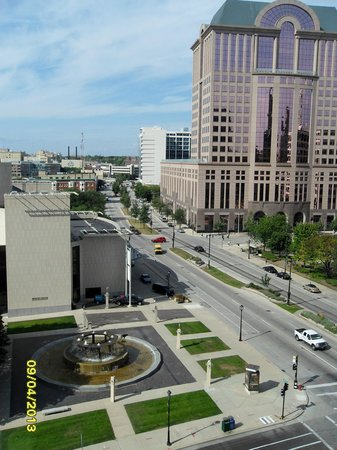 InterContinental Milwaukee : View from room.