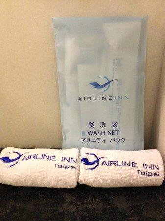 Airline Inn Taipei : Toiletries