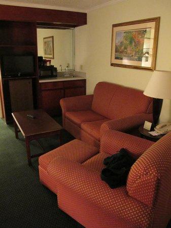 Clarion Inn & Suites: canapé moelleux
