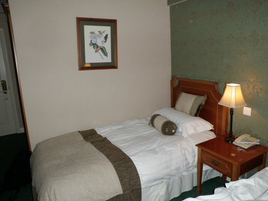 Fitzgerald's Vienna Woods Hotel : Single bed