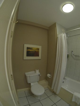 Fitzgerald's Vienna Woods Hotel : Bathrooom decor