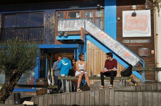 Sainte-Adresse, Pháp: La Petite Rade, gezelligheid troef