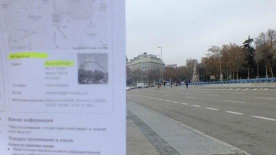 NH Madrid Nacional: отель на горизонте