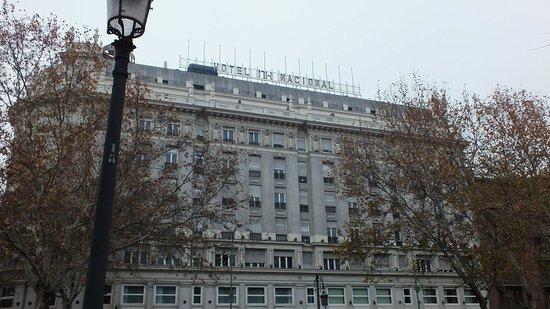 NH Madrid Nacional: фасад