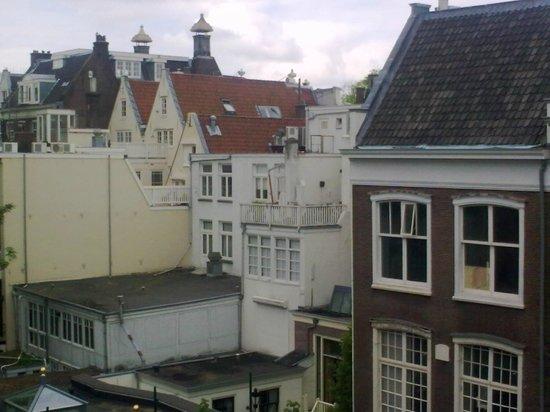 Hotel de Westertoren: la vista dalla finestra