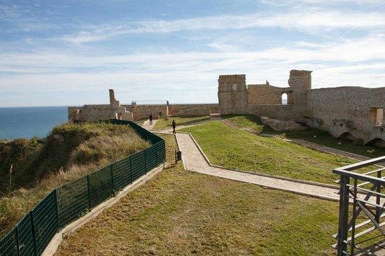 Ortona, Italie : Dentro il castello...