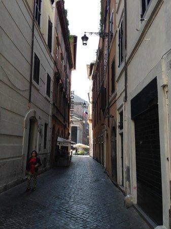 Hotel Abruzzi: Blick auf Pantheon