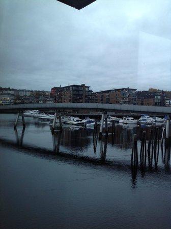 Scandic Nidelven: From meetingroom window