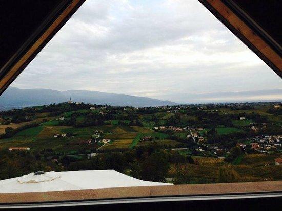 Hotel Villa del Poggio: Dal mio letto!