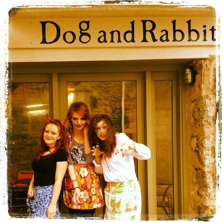 The Dog and Rabbit Cafe: Halloween Horrors