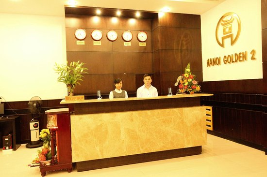 Hanoi Golden 2 Hotel: Reception